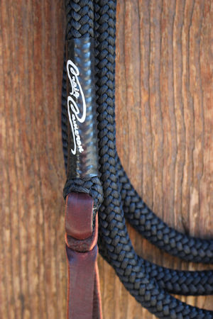 Craig Cameron 12 Foot Lead Line with Leather Popper